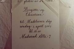 Dåp - Madeleine