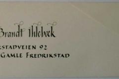 Kort - Eli 2002 konvolutt